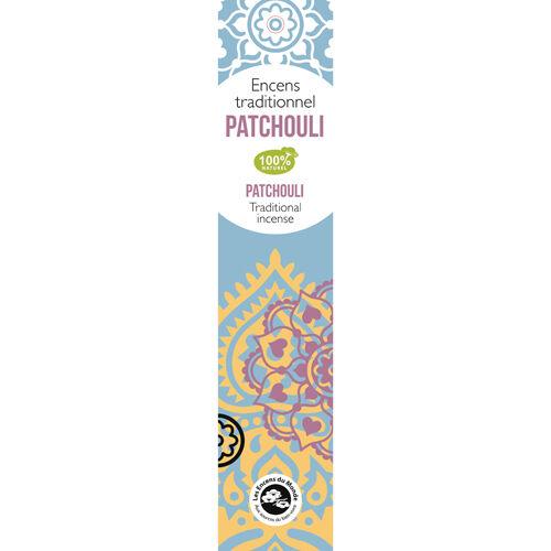 Aromandise Patchuli Indisk Røgelse - 20 stk