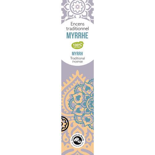 Aromandise Myrra Indisk Røkelse - 20 stk