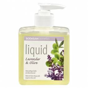 Sodasan Håndsåpe Flytende Lavendel - 300 ml