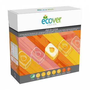 Ecover opvasketabs all in one - 65 Tabl