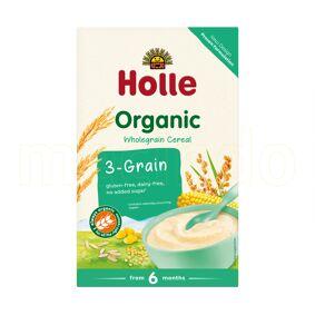Holle 3-kornsgrøt Ø - 250 Gram