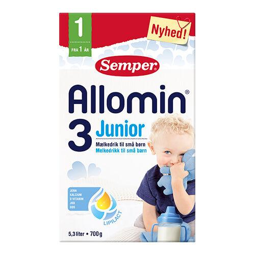 Semper Allomin 3 Junior Tilskuddblanding Fra 1 År - 700 G