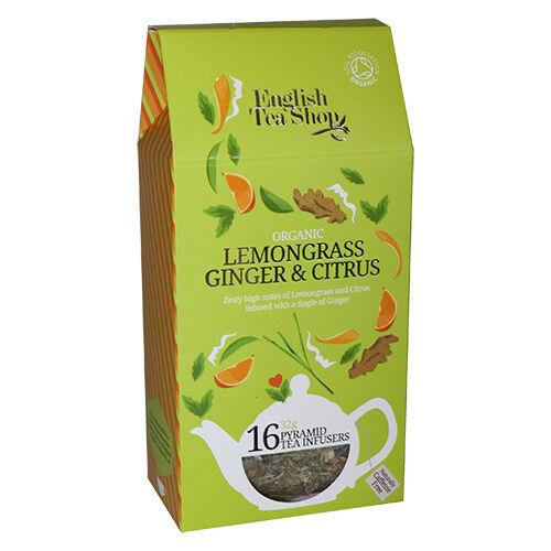 English Tea Shop Lemongrass, ginger, citrus tea Ø - 16 Pose