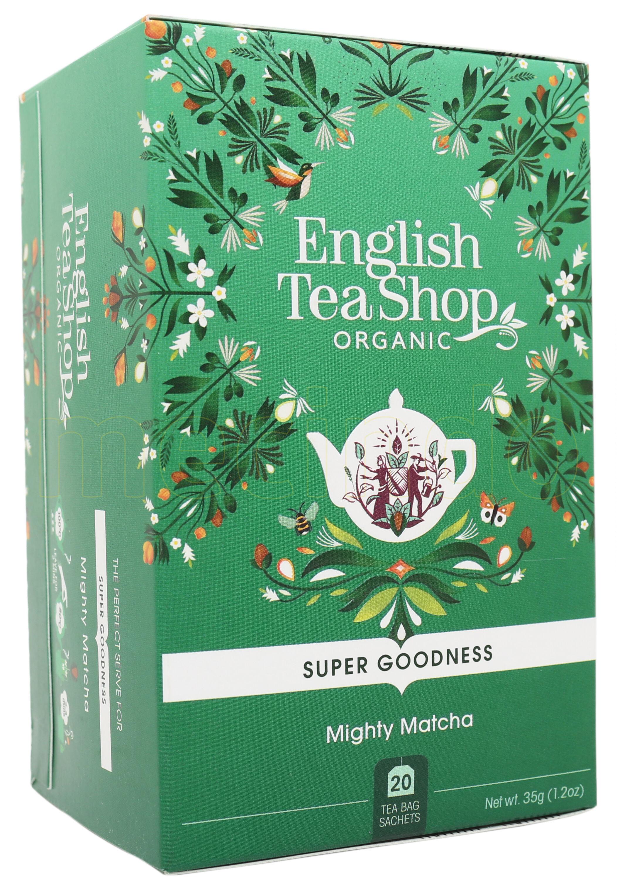 English Tea Shop Mighty Matcha Te Ø - 20 Poser