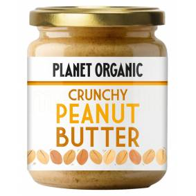 Planet Organic Peanutbutter Crunchy Ø - 170 G