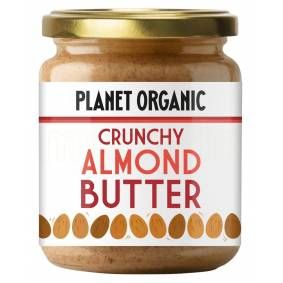 Planet Organic Mandelsmør Crunchy Ø - 170 G