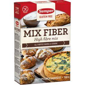 Semper Brødmix med fiber glutenfri Semper - 500 G