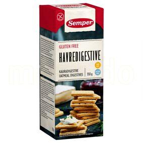 Semper Kiks Digestive Havre Glutenfri - 150 G