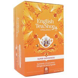 English Tea Shop Turmeric, Ginger & Lemongrass Te Ø - 20 Poser