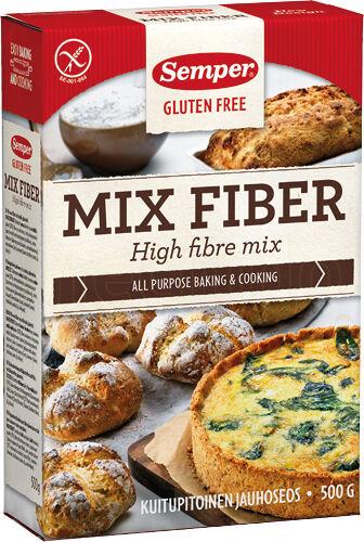 Semper Brødmix med fiber glutenf...