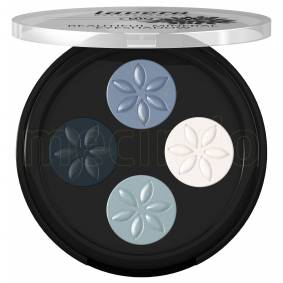 Lavera Eyeshadow Blue Platinum 07 Beautiful mineral quattro - 3 G