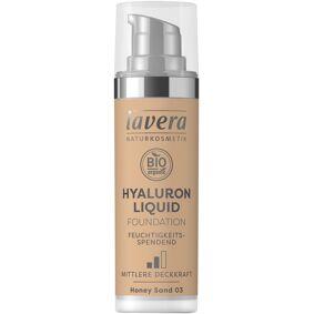 Lavera Foundation Honey Sand 03 Soft Liquid - 30 ml