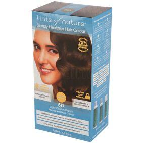 Tints of Nature Light Golden Brown Permanent Hair Colour 5D - 130 ml