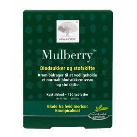 New Nordic Mulberry - 120 Tabl