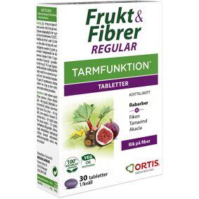 Frukt & Fiber Tabletter - 30 Tabl