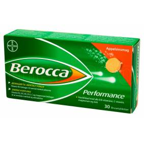 Berocca Performance - Orange - 30 Tabletter