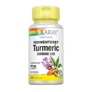 Solaray Turmeric Fermenteret - 425 mg - 100 Kaps
