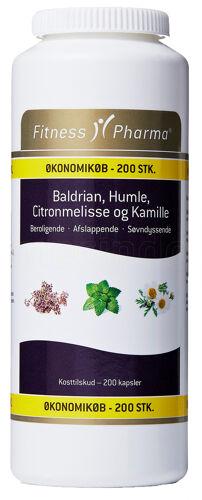 Fitness Pharma Baldrian, Humle, ...