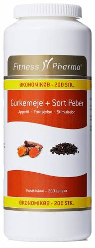 Fitness Pharma Gurkemeje & Sort ...