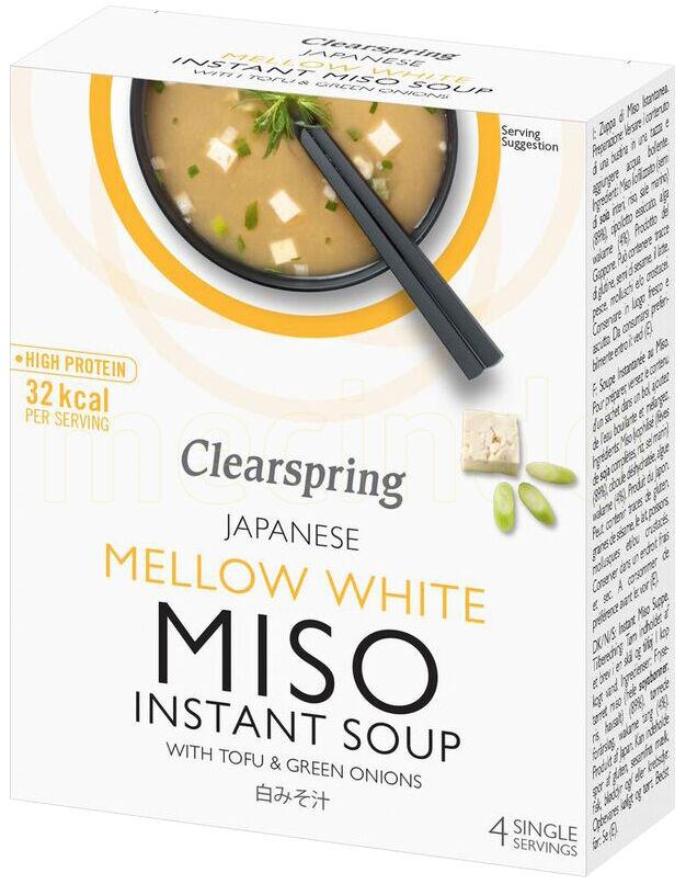 Clearspring Hvit Misosuppe med Tofu - 40 Gram