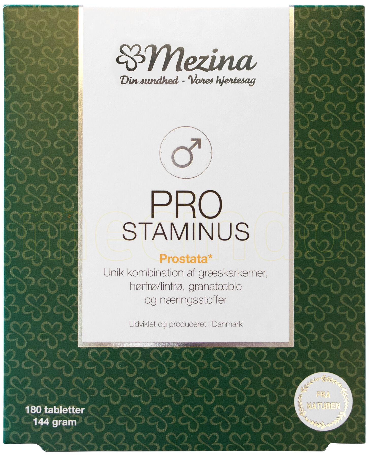 Mezina Pro-staminus - 180 Tabletter