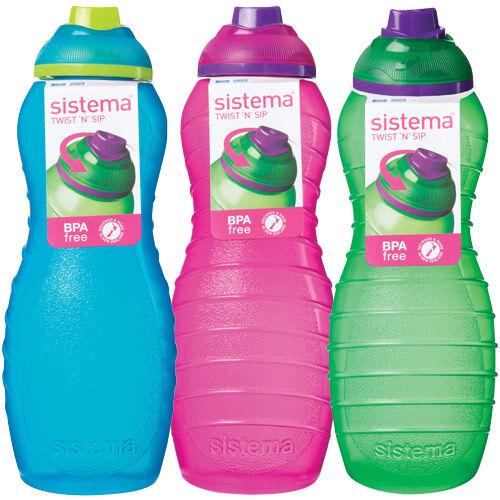 Sistema Drikkeflaske Davina 700 Ml Grøn, Pink, Blå - 1 stk