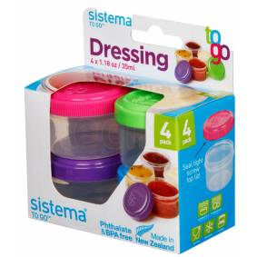Sistema Minibox Dressing To Go 4x35 ml ass. farge - 1 stk