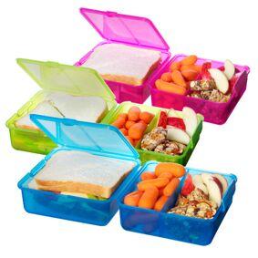 Sistema Matboks Lunch Cube Blå, Pink, Limegrønn - 1 stk