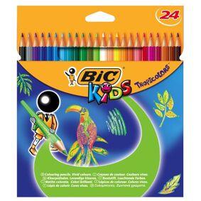 BIC Fargeblyant Bic Tropicolor (24)