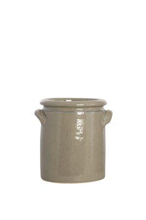 House Doctor Blomsterkrukke Pottery 15 cm - Sand