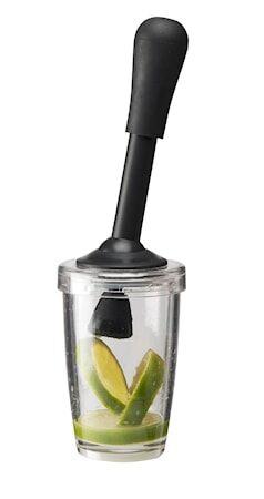 Dorre Fruktpresse hardplast svart håndtak høyde 22 cm