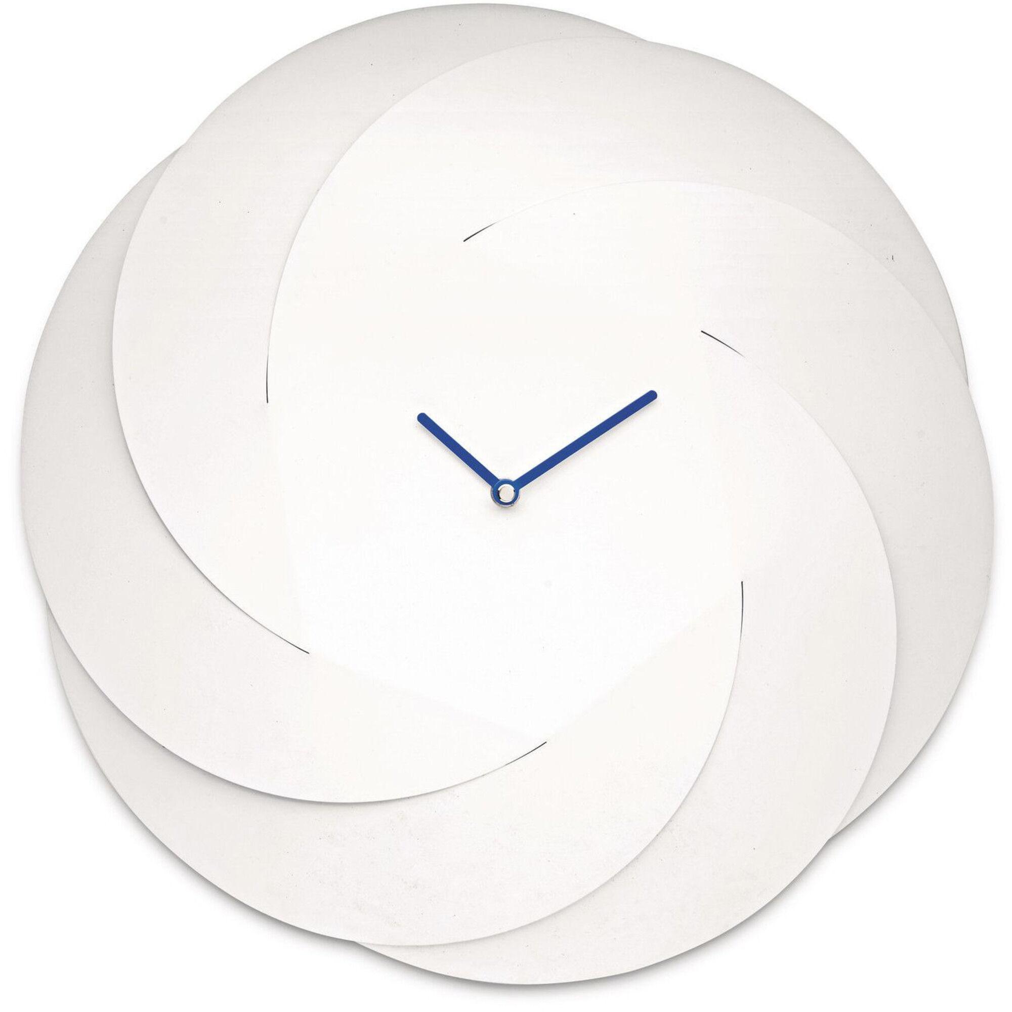 Alessi Infinity Clock Veggklokke Hvit