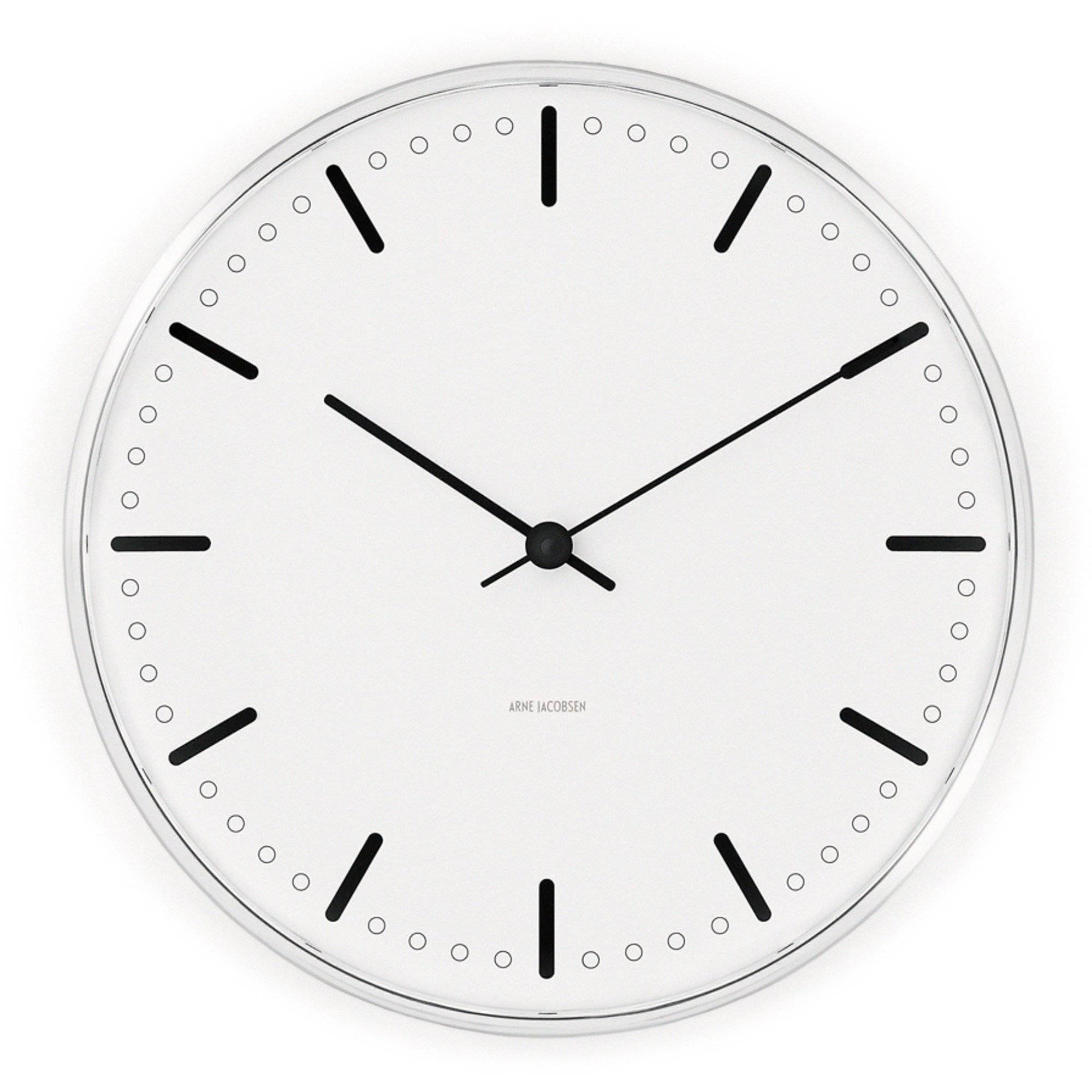Arne Jacobsen City Hall Veggklokke 16 cm
