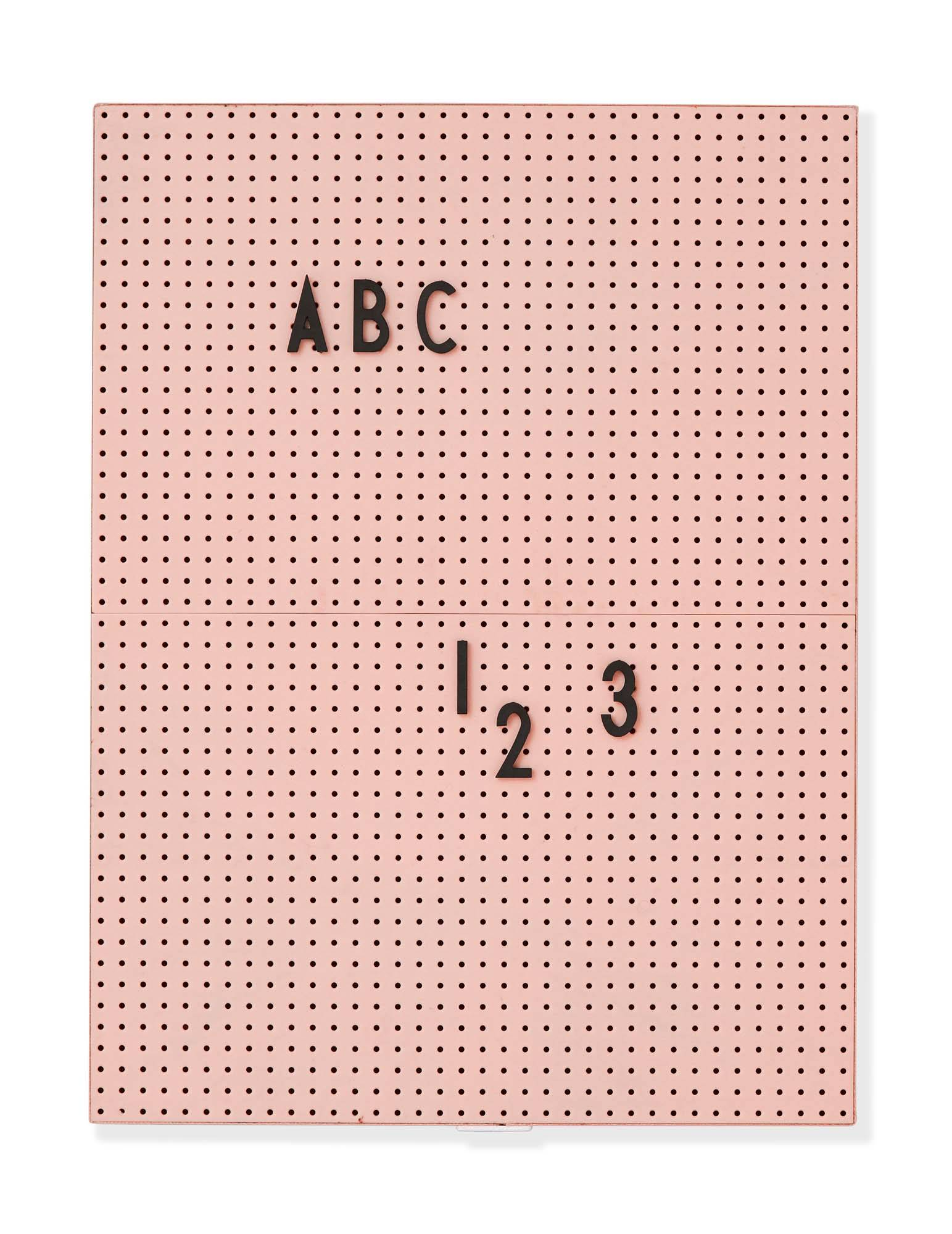 Design Letters Message board, A4 Nude