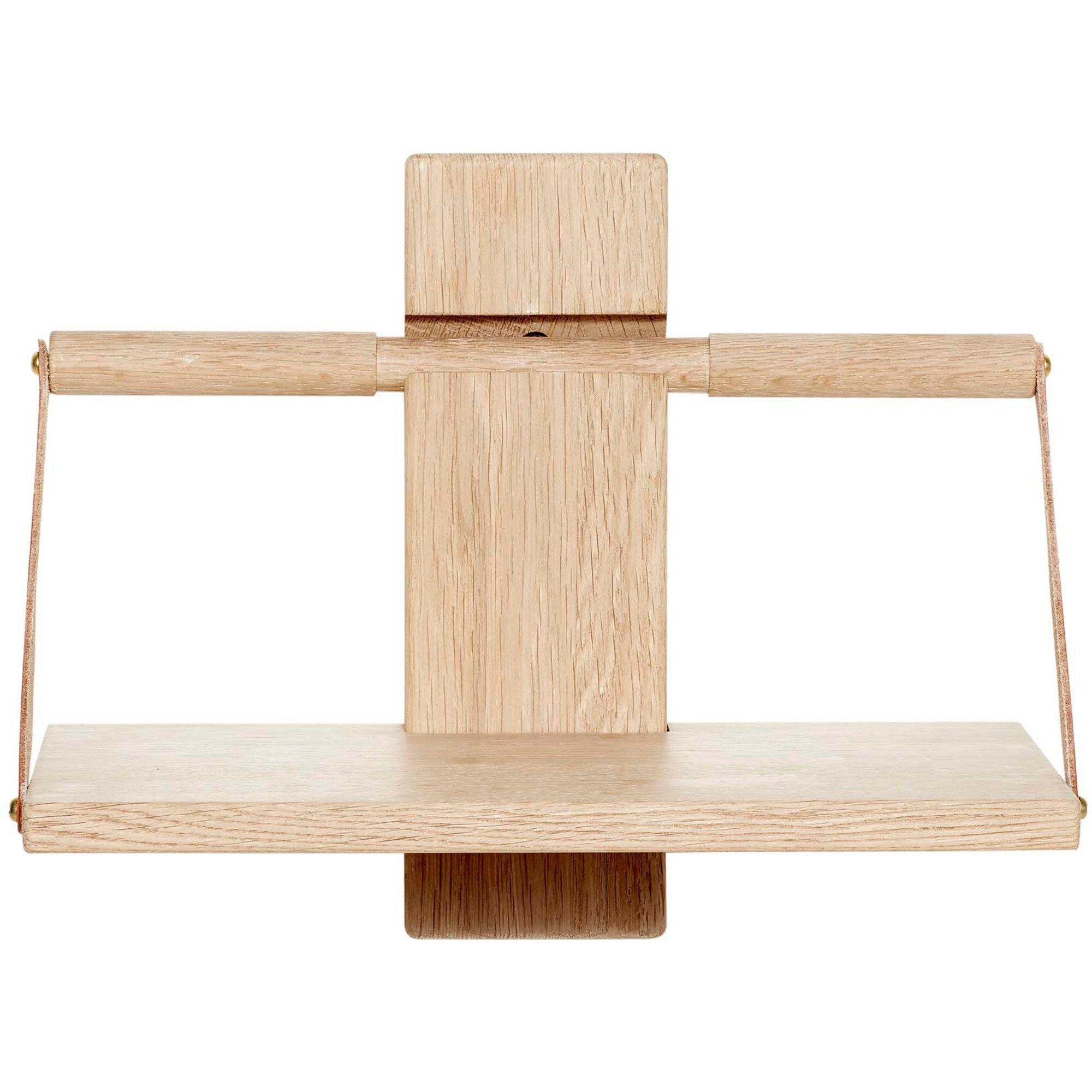 Andersen Furniture Wood wall Shelf 30 x 18 x 24 cm Liten Oak
