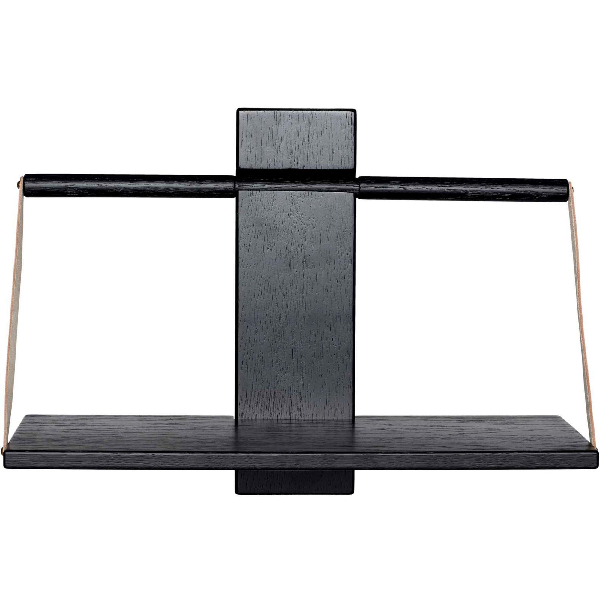 Andersen Furniture Wood wall Shelf 45 x 20 x 32 cm Medium Black