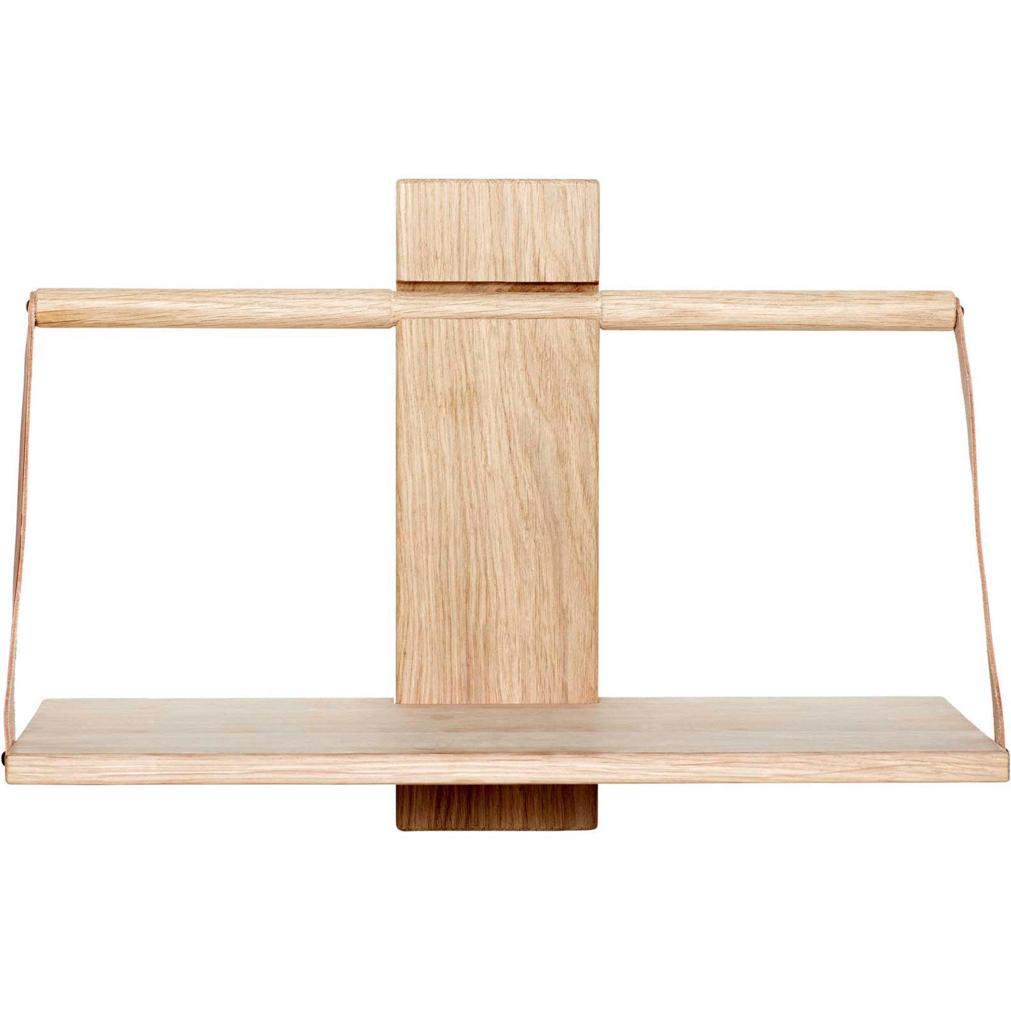 Andersen Furniture Wood wall Shelf 45 x 20 x 32 cm Medium Oak