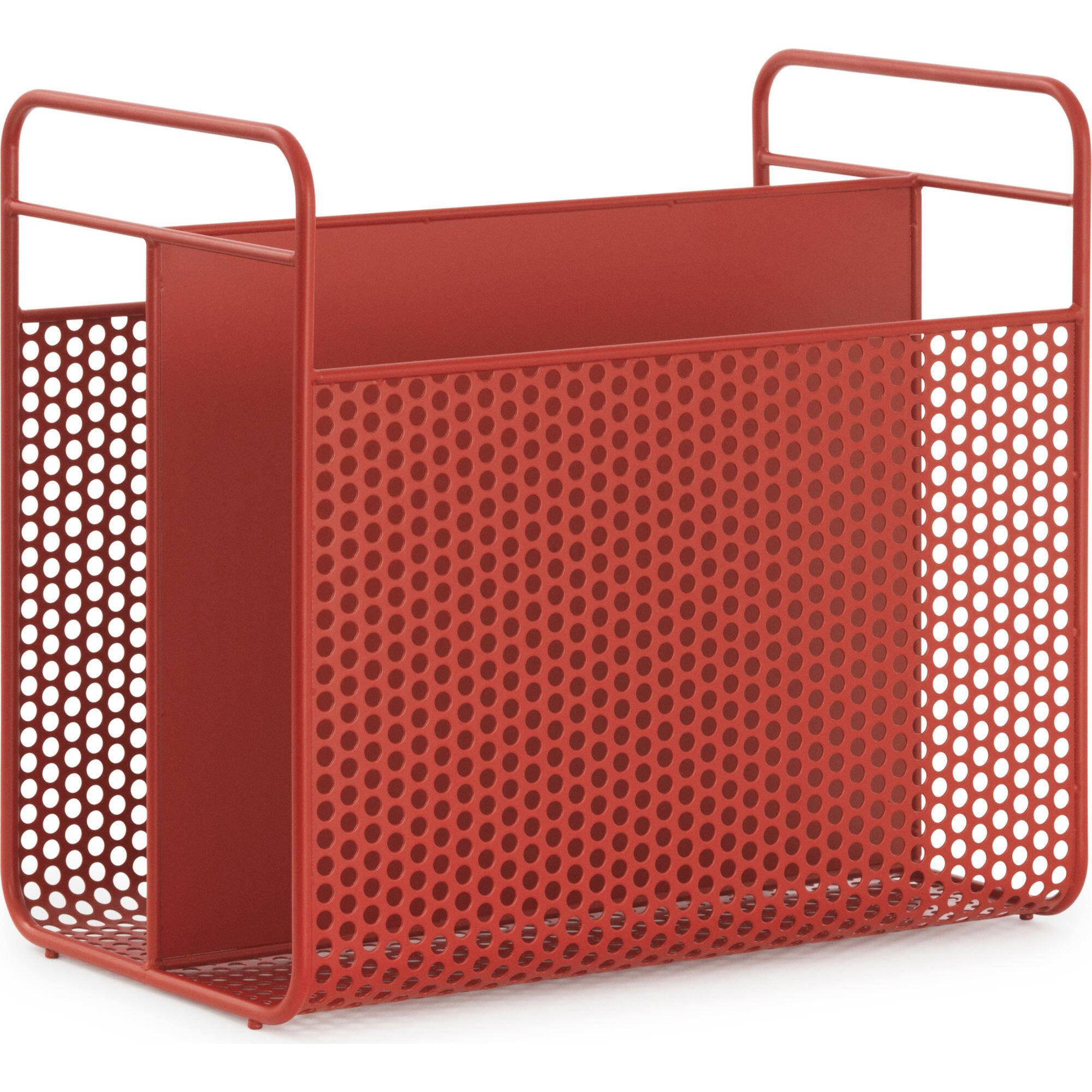 Normann Copenhagen Magazine Rack Red
