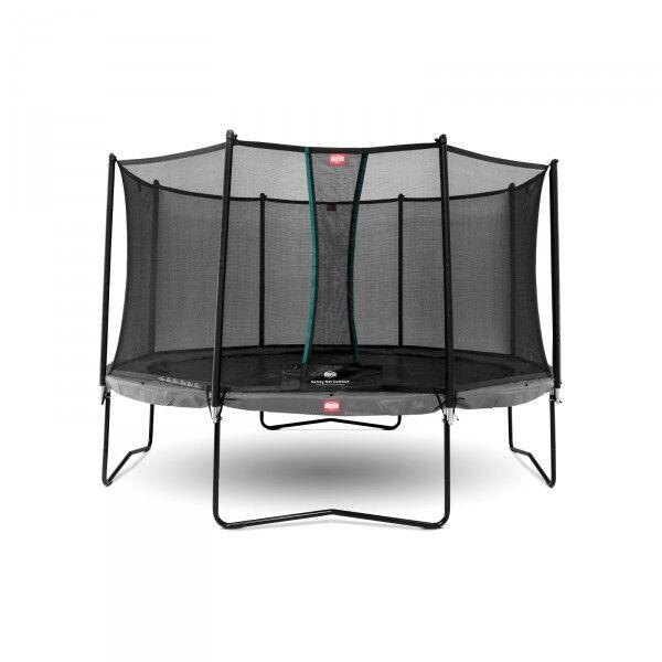 Berg Trampolin Champion inkl. sikkerhetsnett Comfort 330cm grå