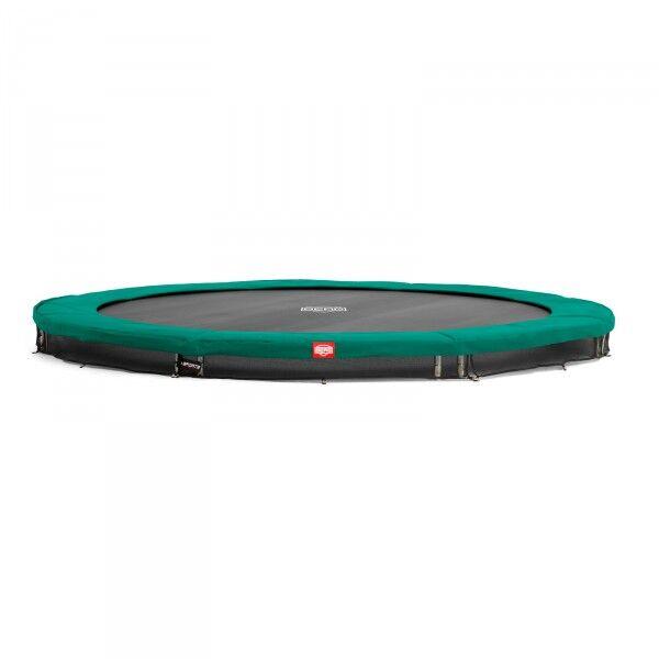 Berg hagetrampoline InGround Favorit (Sport Series) 330 cm grün