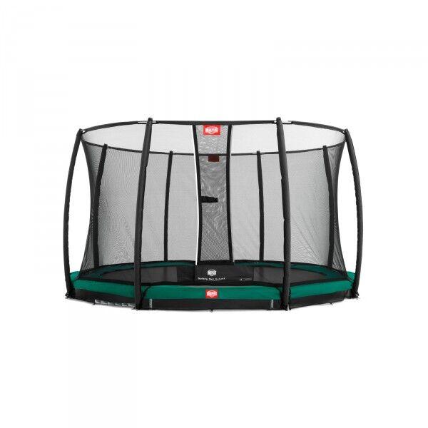 Berg Trampoline InGround Champion inkl. sikkerhetsnett Deluxe 330cm grønn