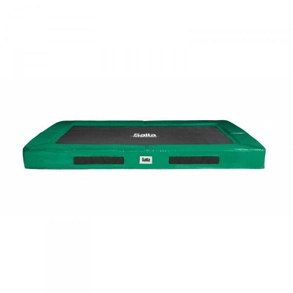 Salta Trampoline Excellent Ground 214x305cm grønn