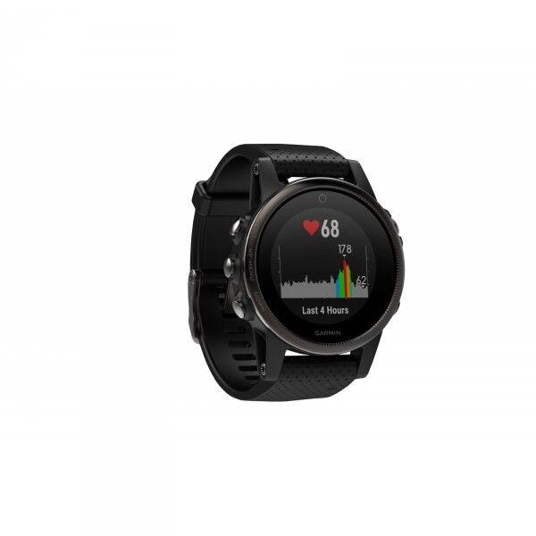 Garmin GPS-Multisportsklokke fenix 5S Safir Svart