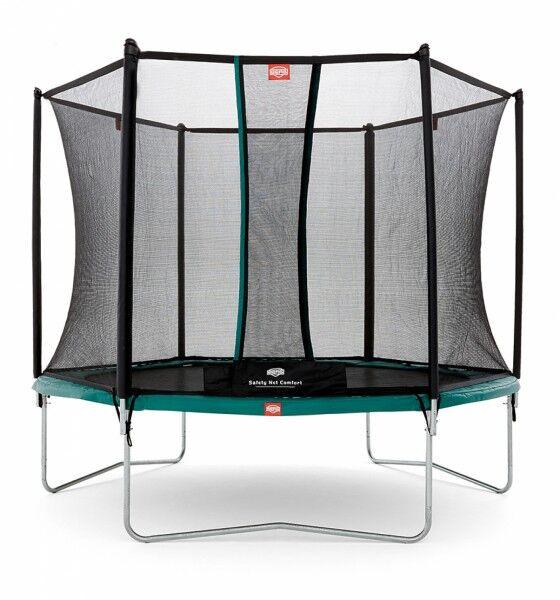 Berg Trampoline Talent + Sikkerhetsnett Comfort 300cm