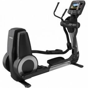 Life Fitness Platinum Club Series Discover SE3HD ellipsemaskin Arctic Silver