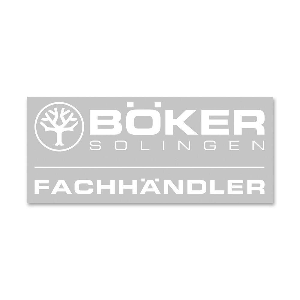Böker Manufaktur Solingen Sticker Fachhändler