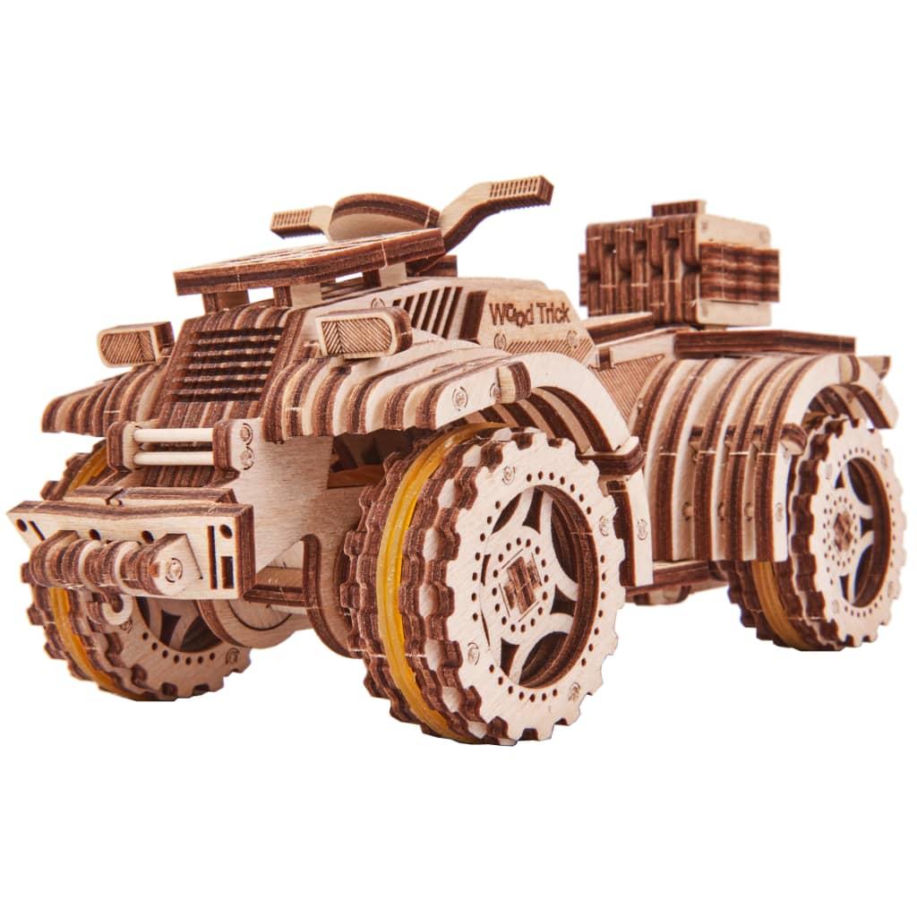 Wood Trick Modellsett skala tre firhjuling