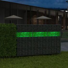 vidaXL Grønne gabionsteiner glass 60-120 mm 25 kg