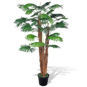 vidaXL Kunstig palmetre med potte 180 cm
