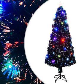 vidaXL Kunstig juletre med stativ/LED 240 cm 380 grener